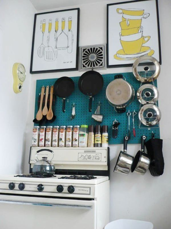 Kitchen Wall Storage Ideas | 65 Ingenious Kitchen Organization Tips And Storage Ideas