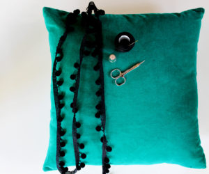 How To Make A Pom Pom Pillow – Step by Step Tutorial