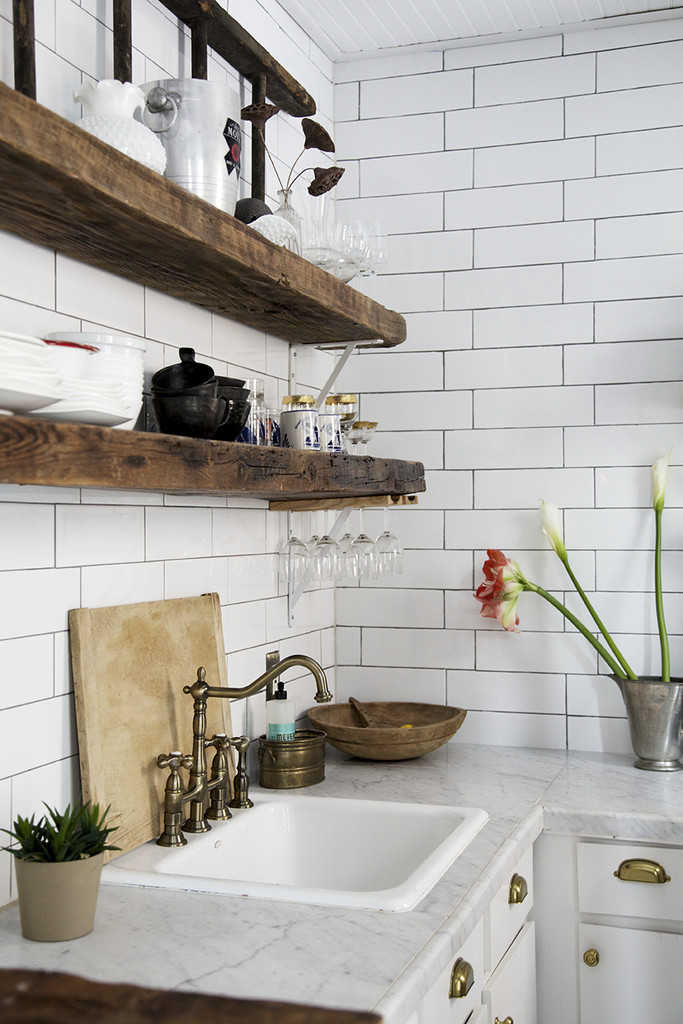 Kitchen Cabinet Shelving Material