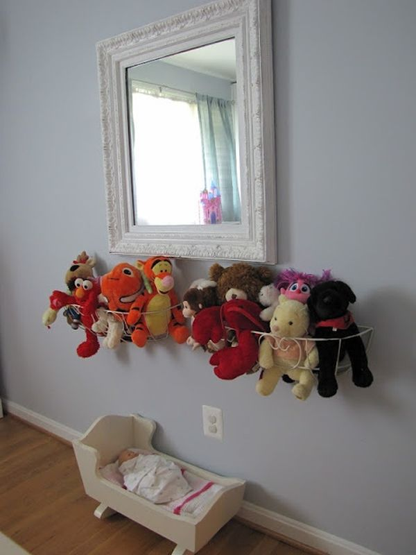 & Stuffed Animal Storage Ideas - Create Your Own Little Zoo