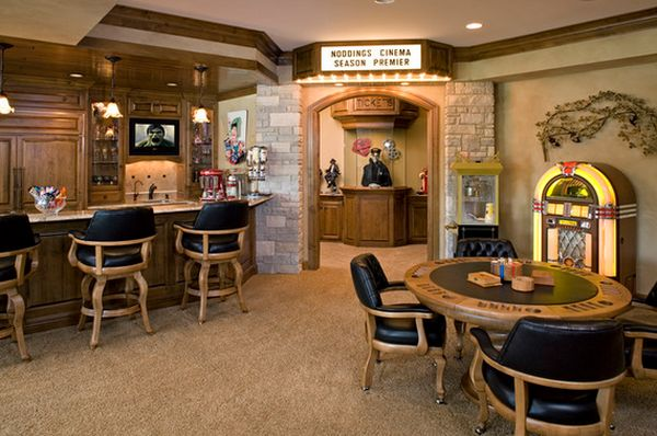 Game Room Bar Ideas Unique Game And Entertainment Rooms Featuring Witty Design Ideas Inspiration Design
