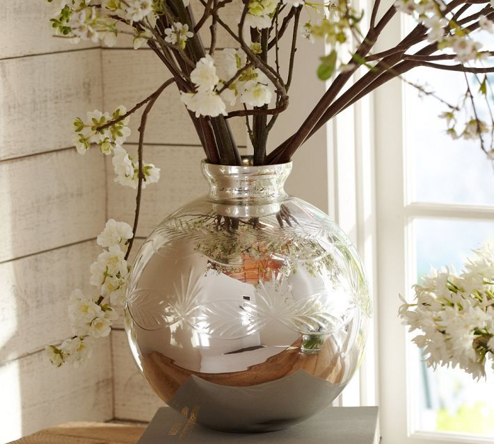 Stylish Mercury Glass Vases That Add Pizzazz To Any Decor