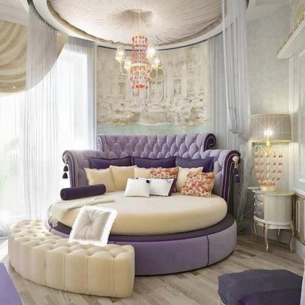 25 cool bedroom designs to dream about at night for Fancy girl bedroom ideas