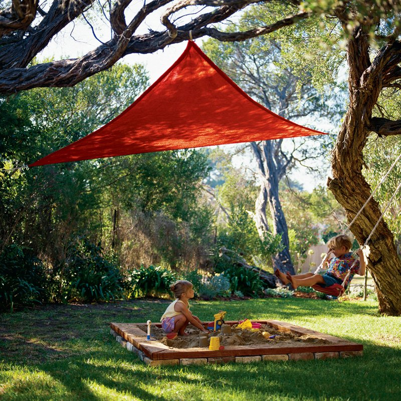 shade sails shape the outdoors with their architectural. Black Bedroom Furniture Sets. Home Design Ideas