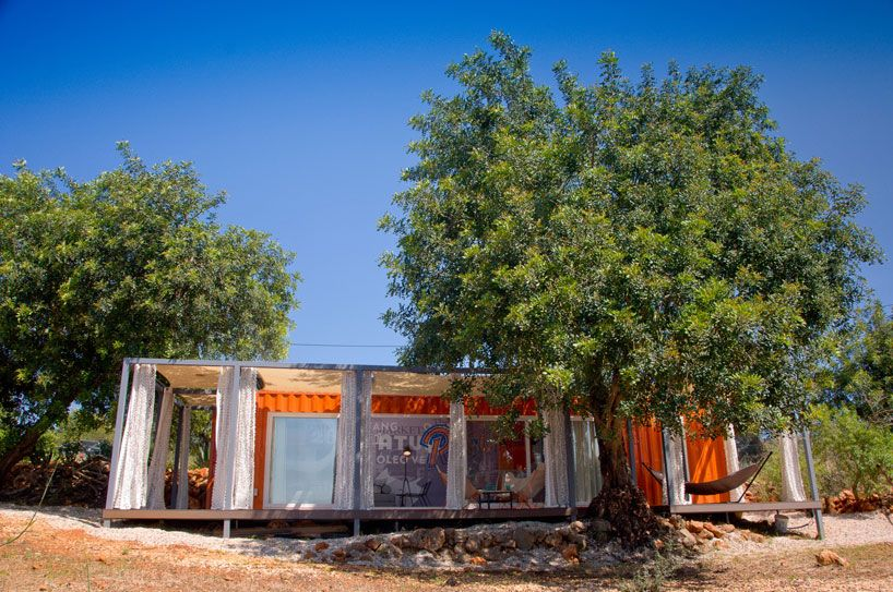 Shipping Container Retreat Gives Nomad Living A Whole New Meaning