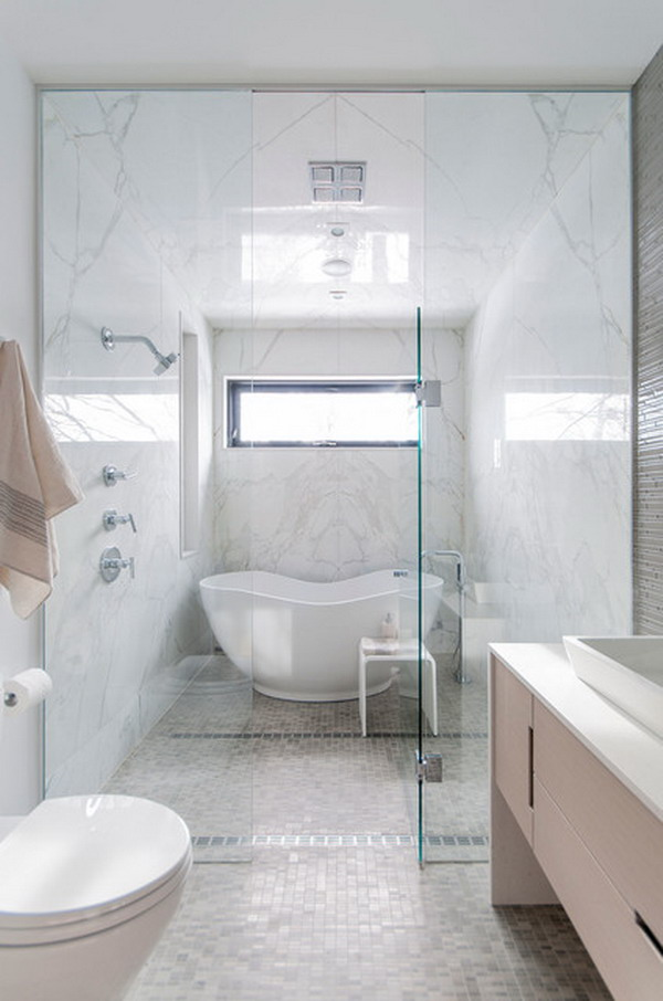 enclosed tub and shower combo. Fixtures and accessories  How You Can Make The Tub Shower Combo Work For Your Bathroom
