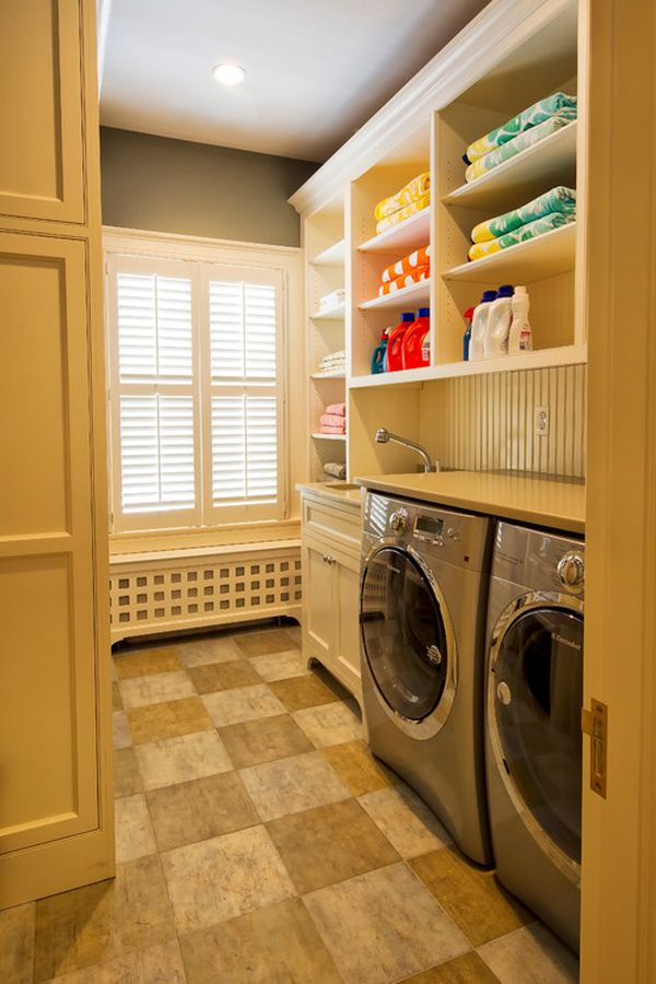 With 21 of the Best Laundry Room Hacks you'll surely be on your way to the space of your dreams. Most people probably don't think much about decorating this room, but when it's cute, we are more likely to WANT to do laundry, right???