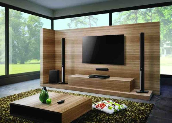 View In Gallery A Home Theater System