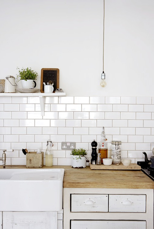White Kitchen Subway Tile kitchen subway tiles are back in style – 50 inspiring designs