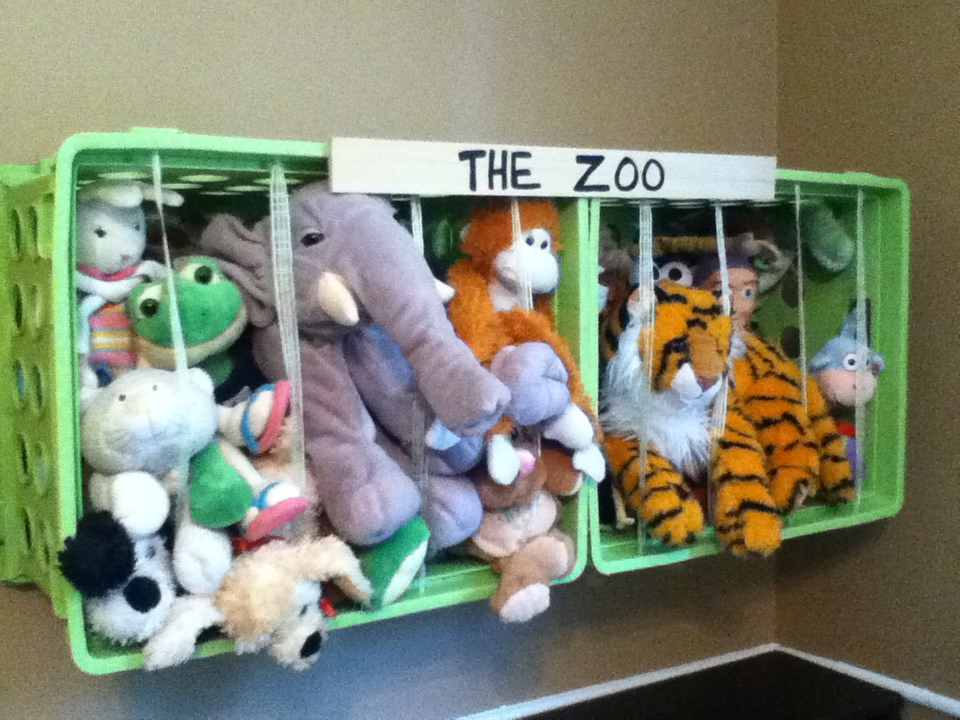 Stuffed animal storage ideas create your own little zoo view in gallery solutioingenieria Choice Image