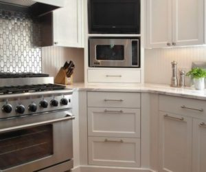 Design Concept And Practical Uses For Corner Kitchen Cabinets