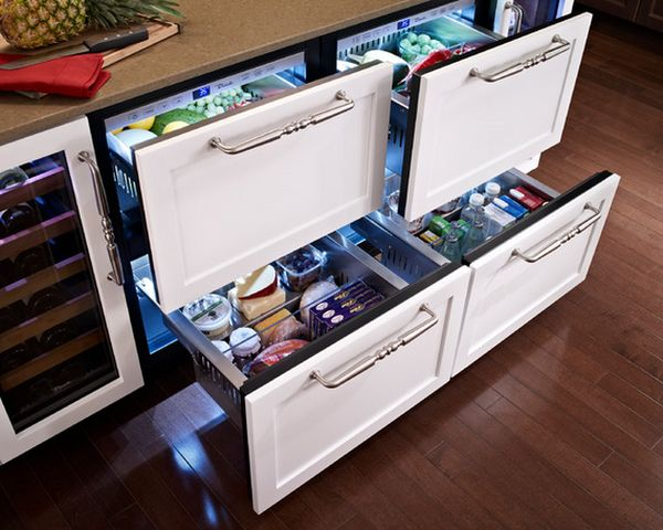 Undercounter refrigerators the new must have in modern for Must haves when building a new home