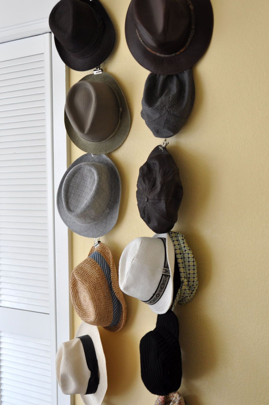 hooks for hanging hats