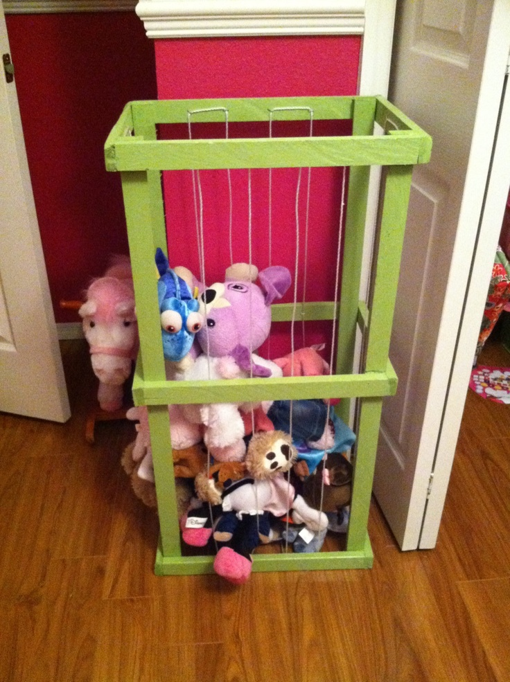 Stuffed Animal Storage Ideas - Create Your Own Little Zoo