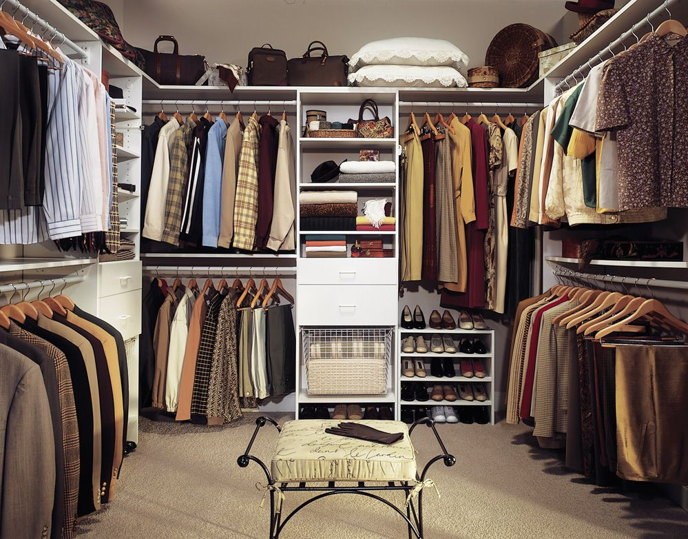 learn to love your closet big or small. Black Bedroom Furniture Sets. Home Design Ideas