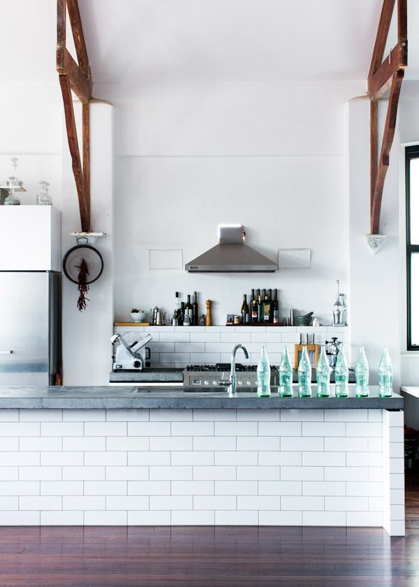 Kitchen Subway Tiles Are Back In Style Inspiring Designs - Tiled kitchen island