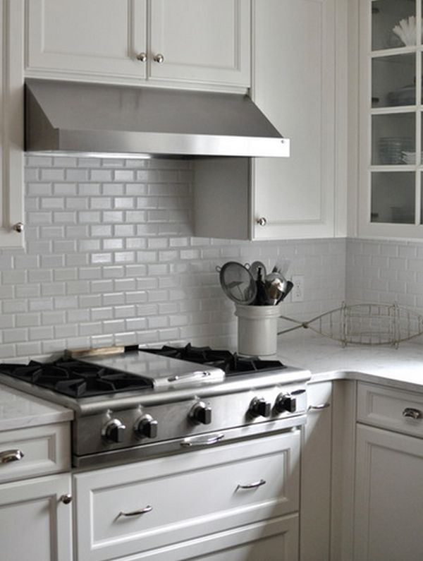 Kitchen Backsplash White kitchen subway tiles are back in style – 50 inspiring designs