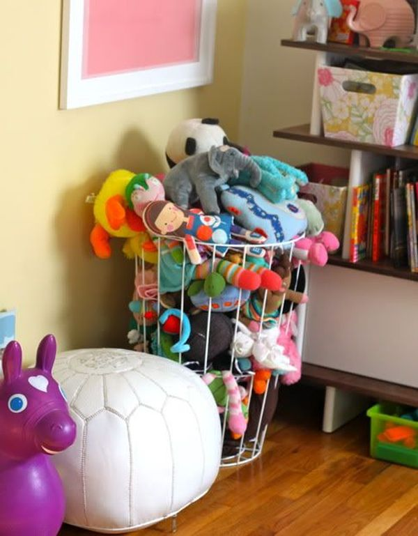 Charming Stuffed Animal Storage Ideas   Create Your Own Little Zoo Ideas