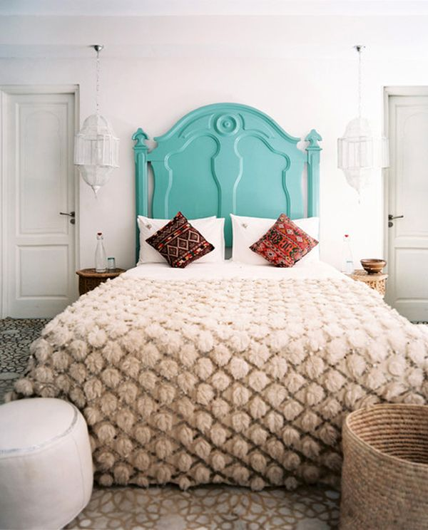 Beautiful feminine headboards ideas inspiration for Painted on headboard