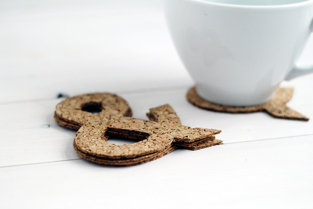 Ampersand Cork Coasters top image