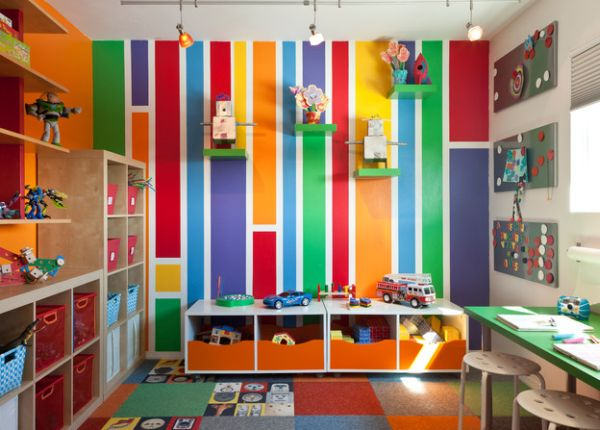 Merveilleux Pretty And Youthful Playroom Color Schemes