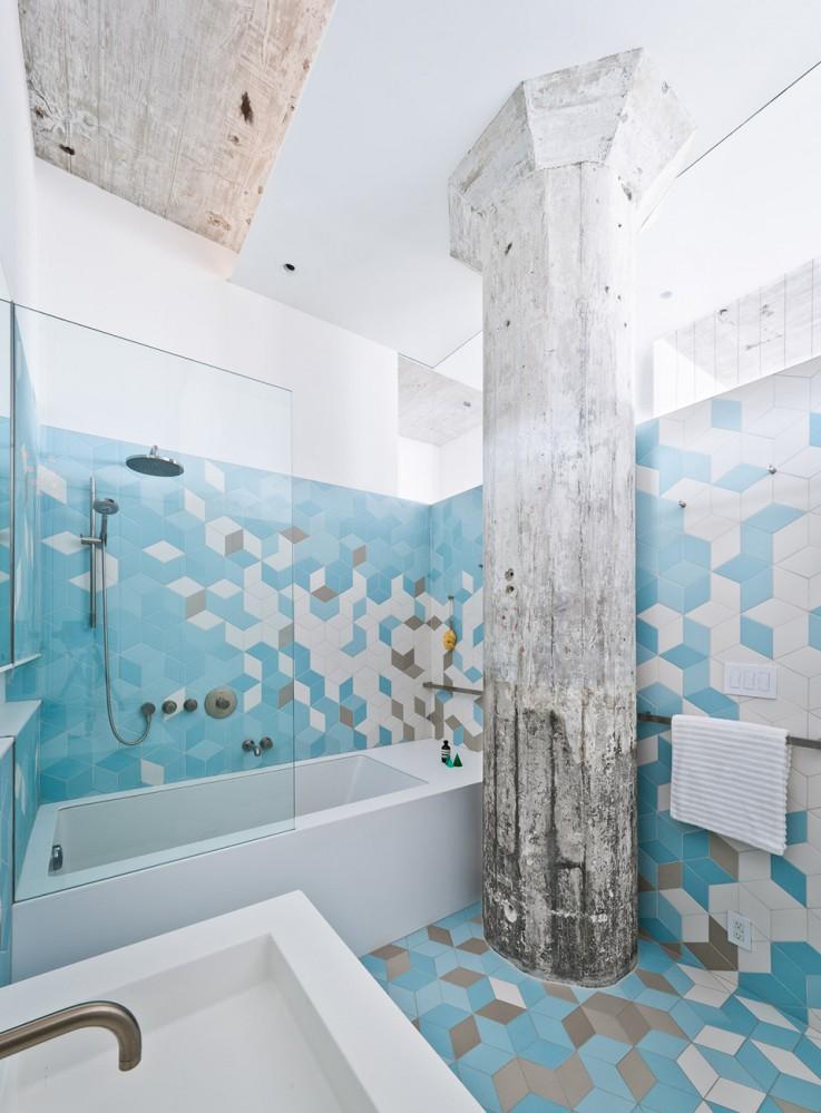 Harmony Takes An Irregular Form In A Refurbished Brooklyn Loft
