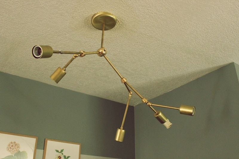 Diy brass chandelier aloadofball