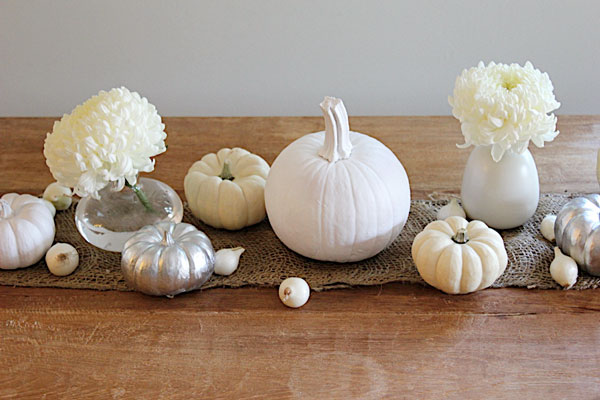 white pumpkin scapes