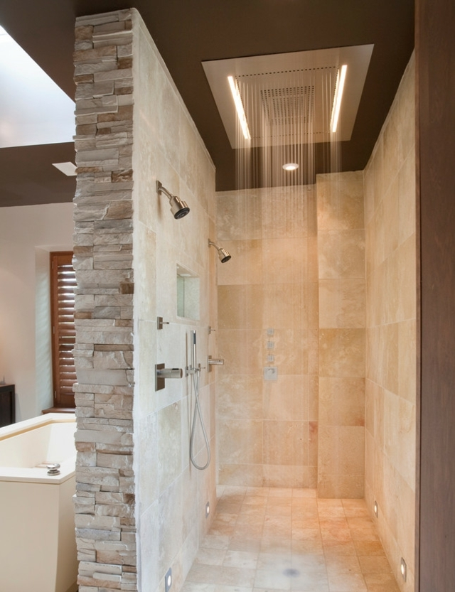 walk in bathroom shower ideas doorless walk in shower designs snail shell studio 26142