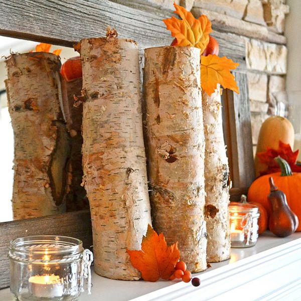 Image result for fall decor natural