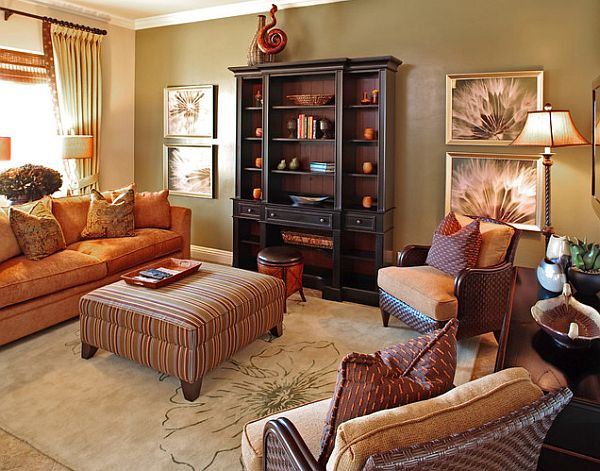 consider fresh fall colors - Fall Home Decor