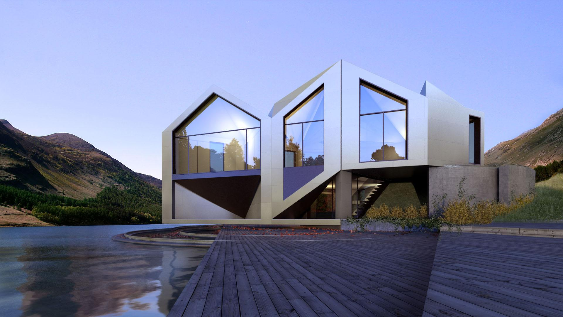 Sliding, Unfolding And Rotating Houses That Perfectly Adapt To Their ...