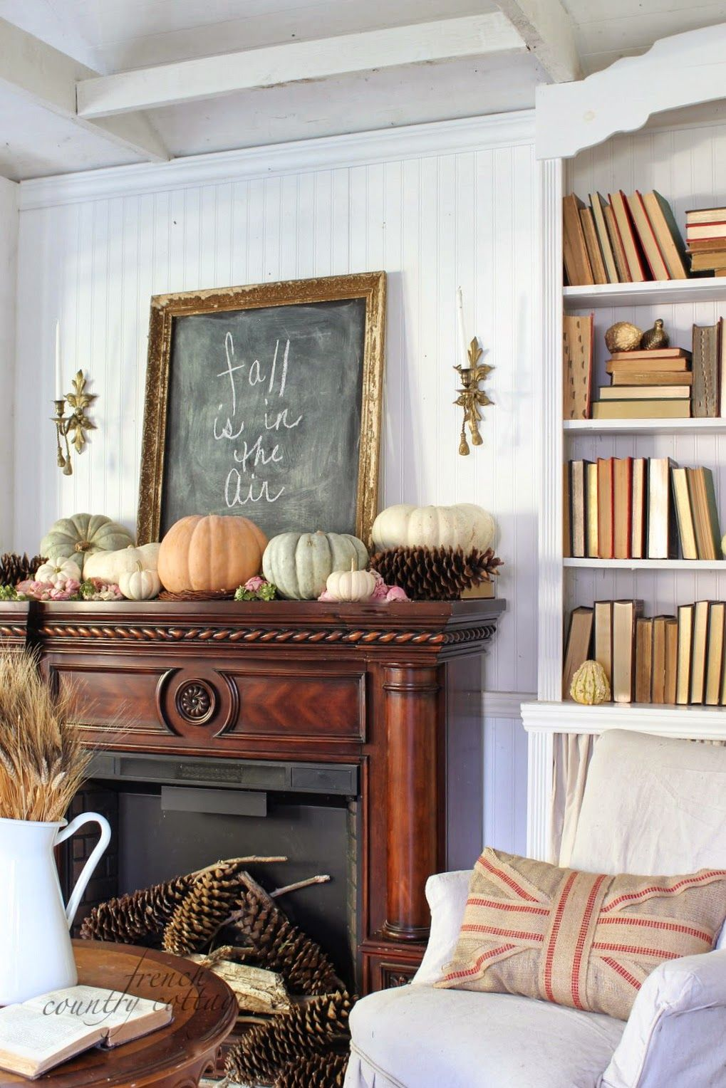 natural fall decorating bring the outside inside this season