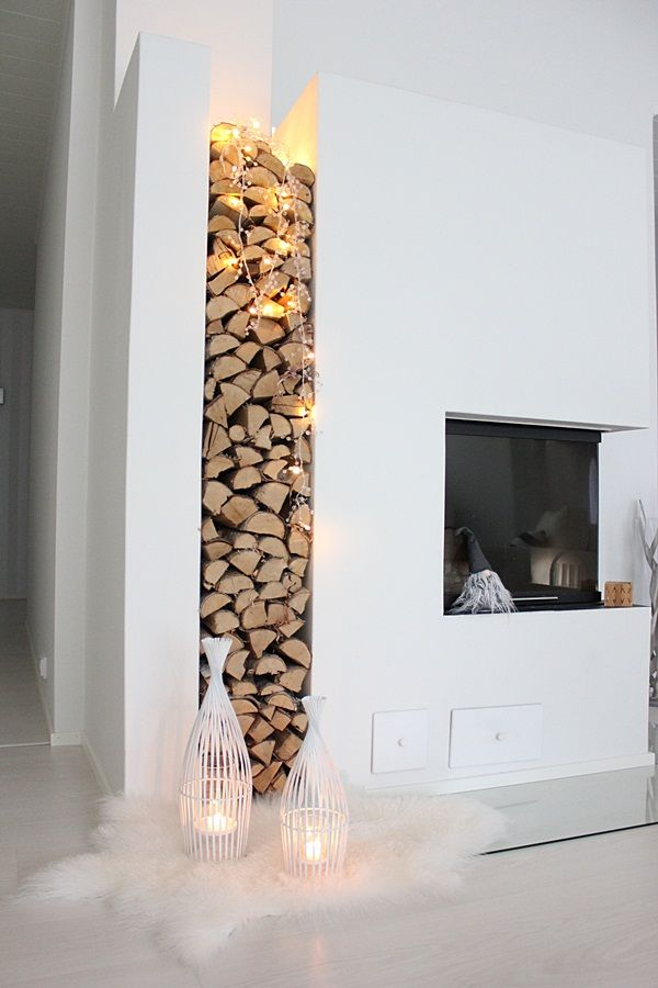 Delicieux 25 Cool Firewood Storage Designs For Modern Homes