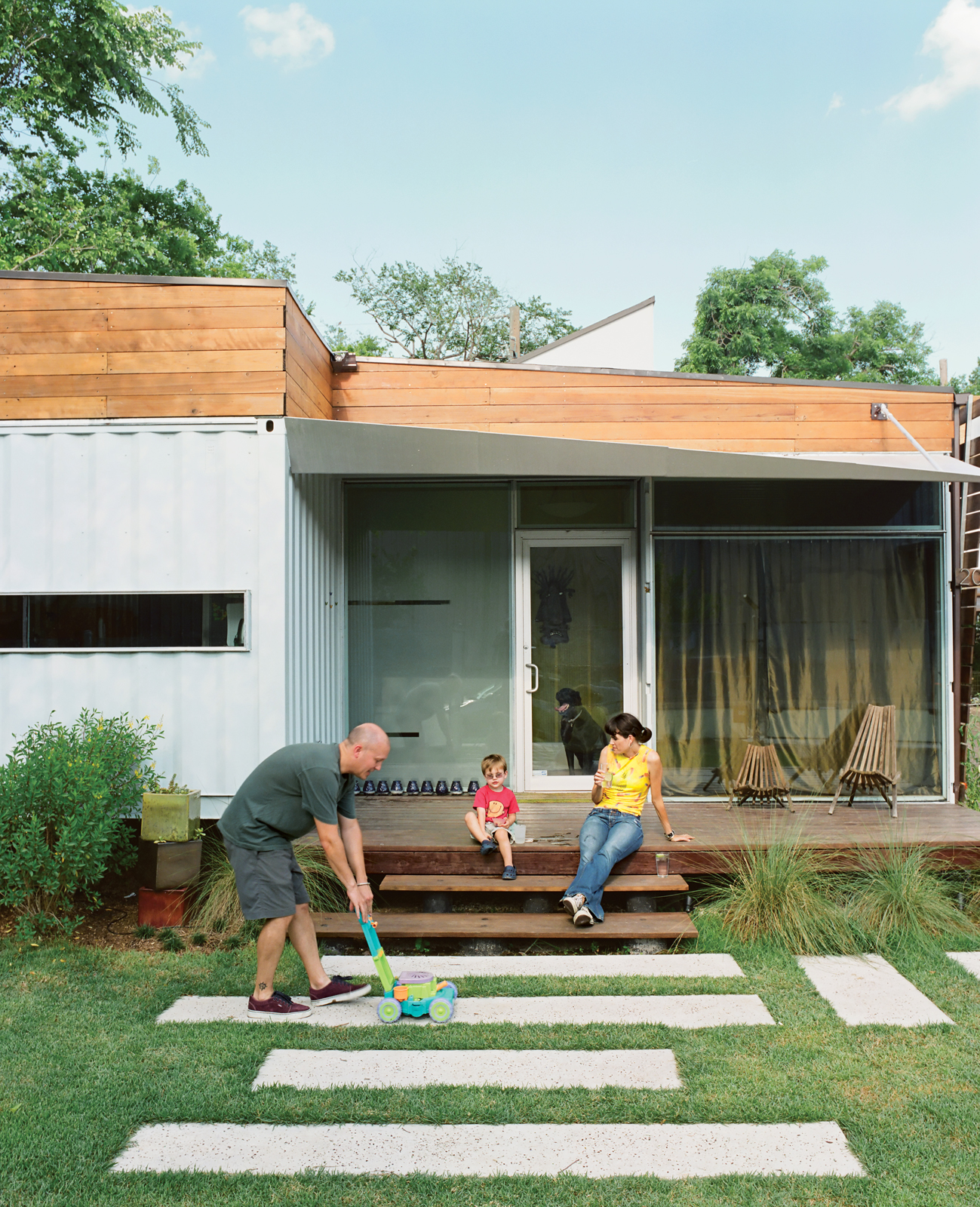 Family Home In A Shipping Container. Can You Make It Work?