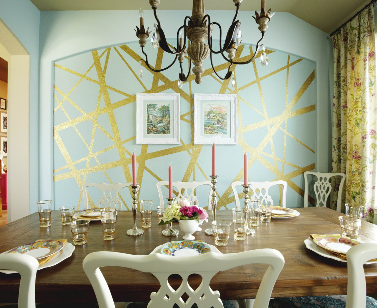 Cool painting ideas that turn walls and ceilings into a - Cool designs to paint ...