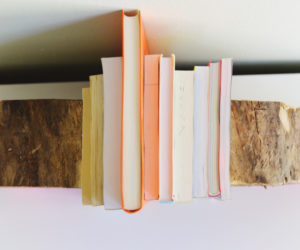 DIY Wooden Half Log Bookends