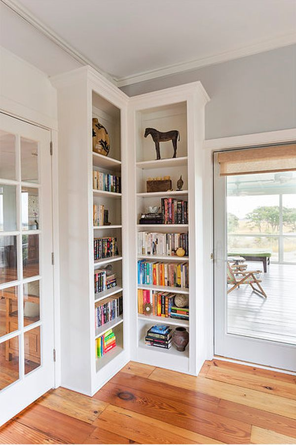 decor corner decorations idea ladder wood shelf bookcase bookshelf to regard with leaning tier within storage white