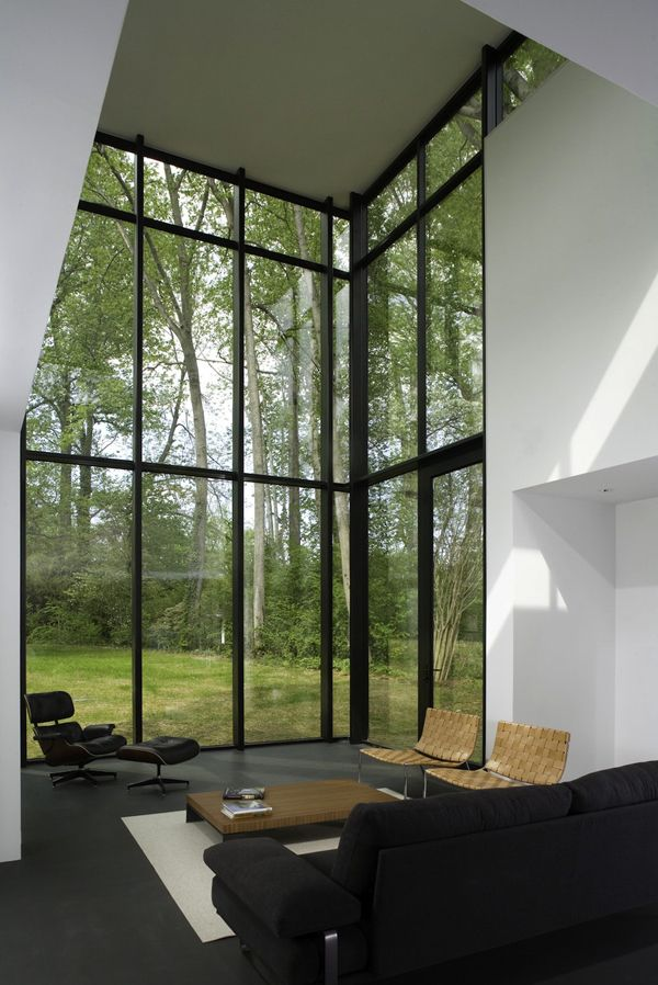 View in gallery. Floor to ceiling windows ... & Floor To Ceiling Windows: A New Way To Define Your Home pezcame.com