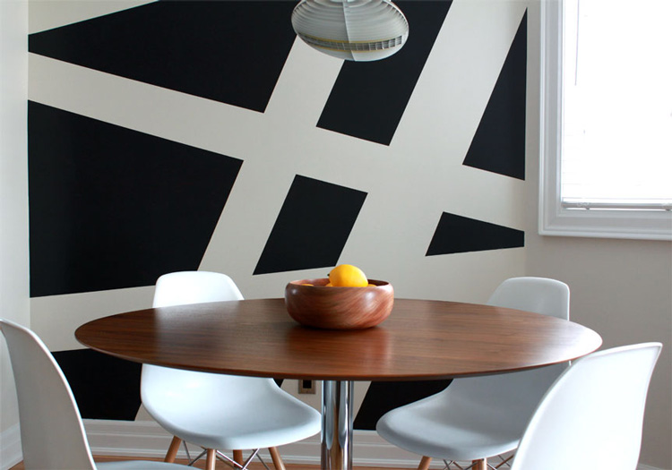 large scale stripes - Paint Designs On Walls With Tape Ideas