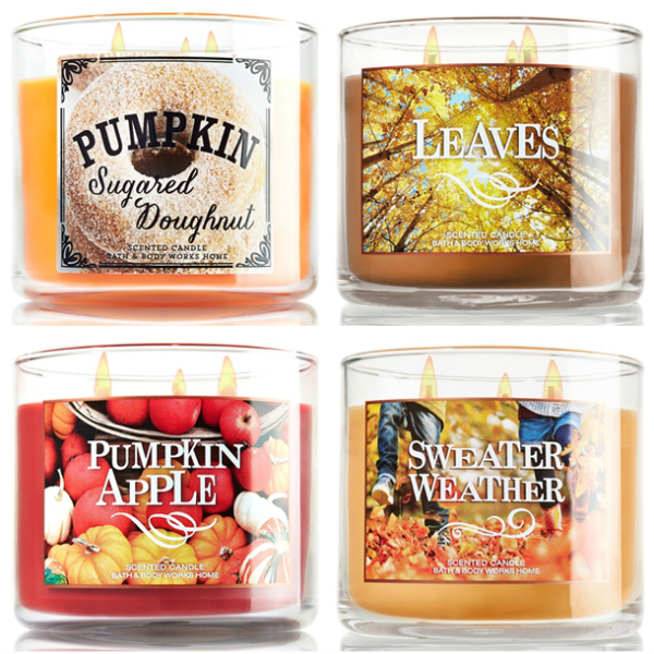 Autumn Scented Candles