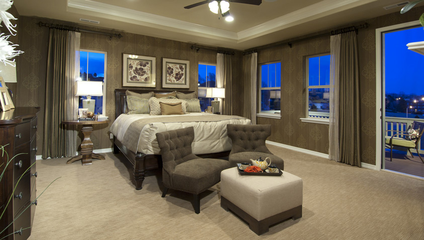 Glamorous lighting ideas that turn tray ceilings into architectural masterpieces Master bedroom ceiling lighting ideas