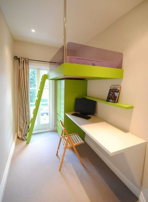 bunk bed office underneath. view in gallery bunk bed office underneath