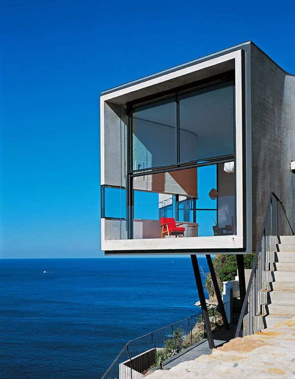 . Cool Houses Clinging To Cliffs To Take In All The Beauty