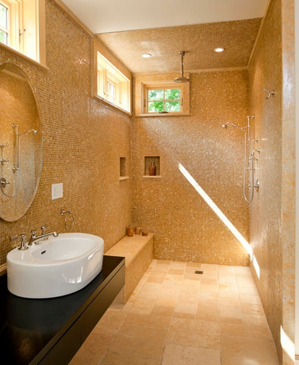 shower design. Doorless Shower Designs Teach You How To Go With The Flow