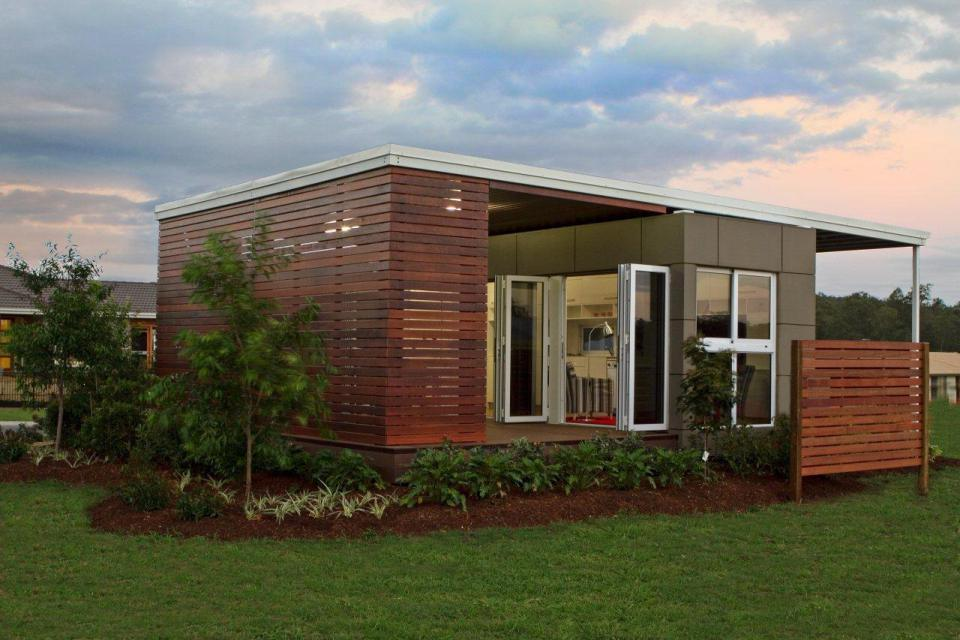 Modular shipping container home offers the perfect floor plan for One level modular homes