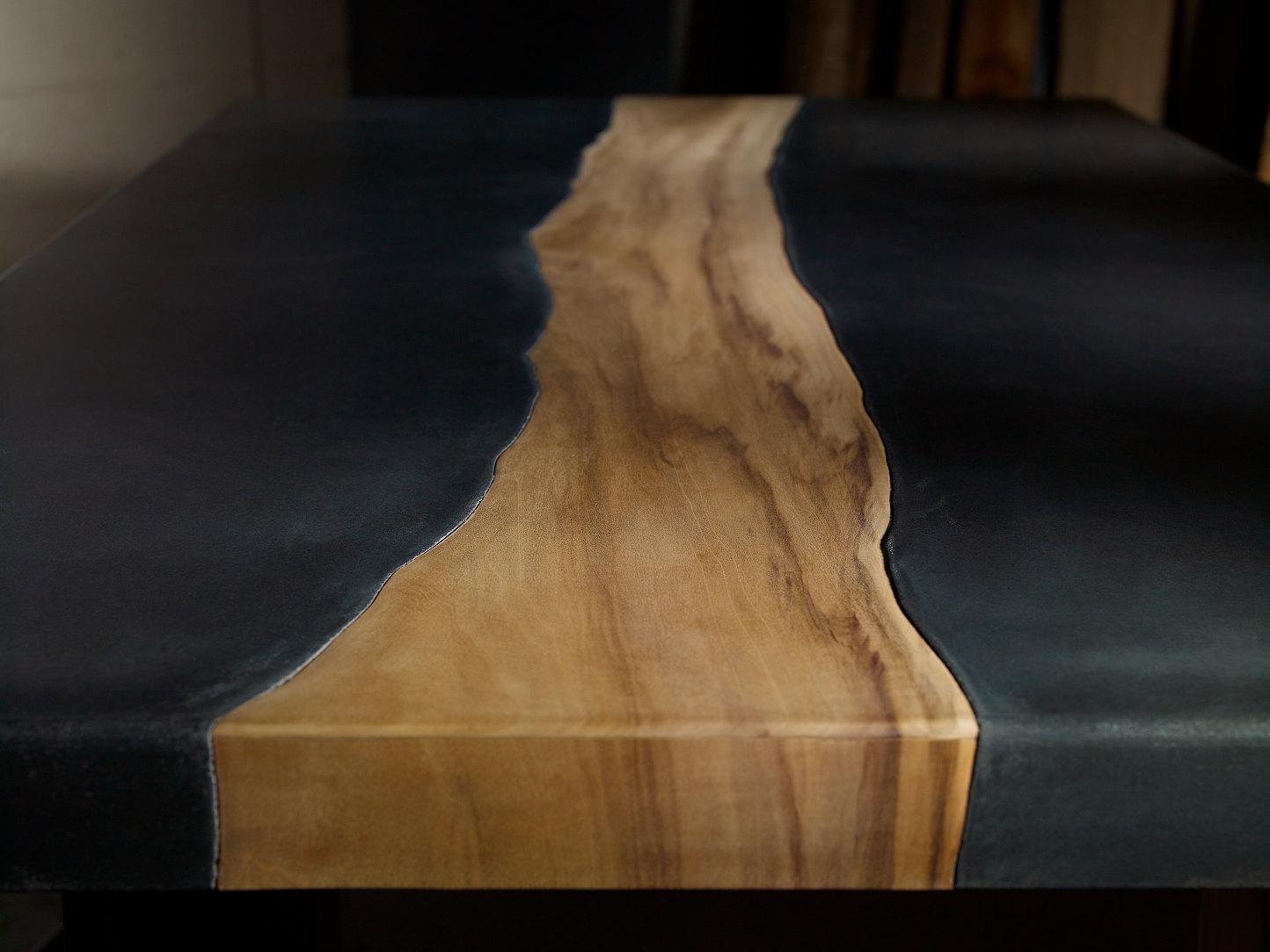 10 Unique Pairings Materials Revolving Around Wood