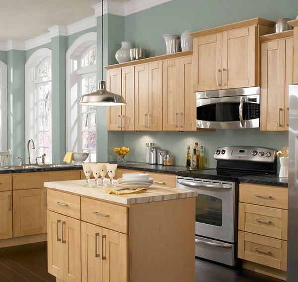 Popular Paint Colors For Kitchens With Oak Cabinets