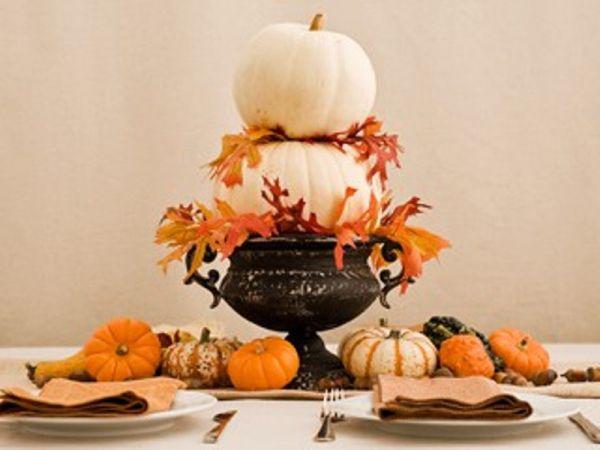 30 festive fall table decor ideas - Deco de table halloween ...