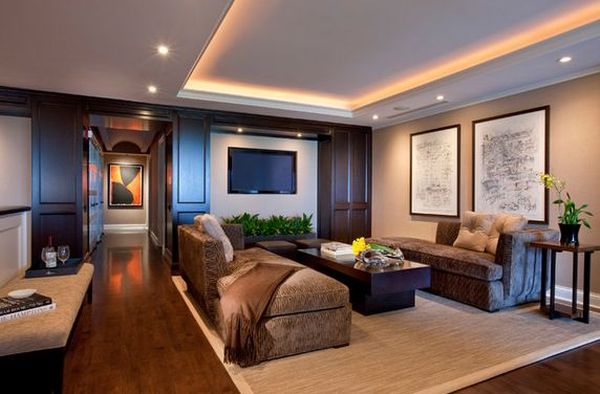 Glamorous lighting ideas that turn tray ceilings into view in gallery mozeypictures Images